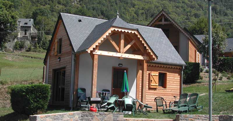 4 location chalet pyrenees, CAMPING AIROTEL PYRENEES