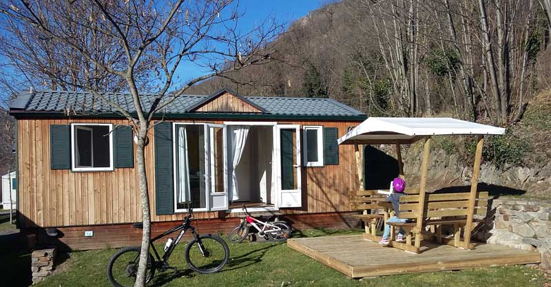 5 location mobil home luz saint sauveur, CAMPING AIROTEL PYRENEES