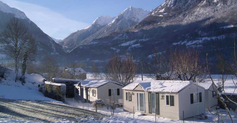 6 montage caravaneige camping pyrenees, CAMPING AIROTEL PYRENEES