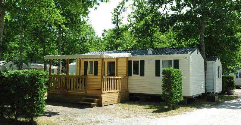 4 location mobil home arcachon ares, CAMPING LA CANADIENNE
