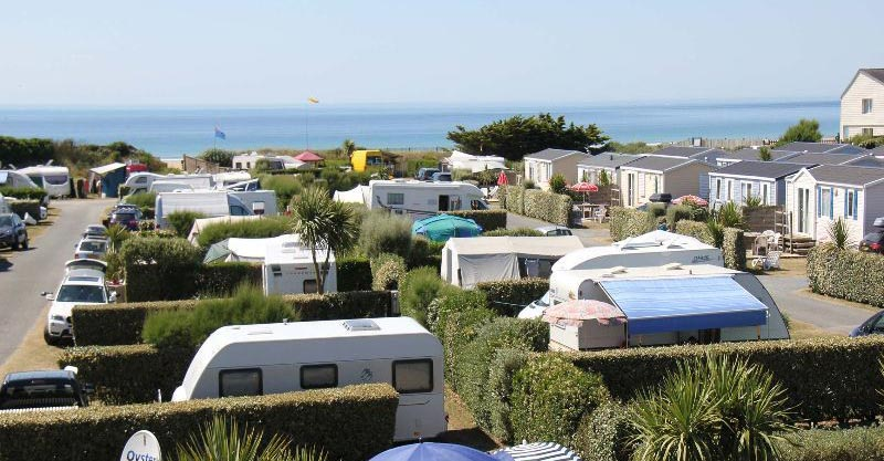 4 camping manche bord de mer, CAMPING LE GRAND LARGE