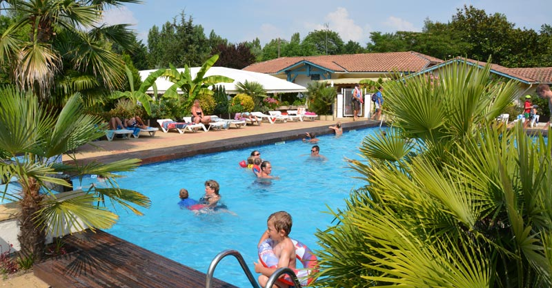 1 camping bassin arcachon piscine, CAMPING KER HELEN
