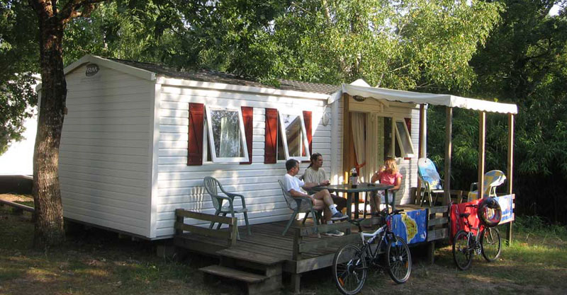 6 location mobil home landes sen yan, CAMPING VILLAGE TROPICAL SEN YAN