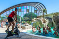 piscine couverte camping argeles, CAMPING LA SIRENE