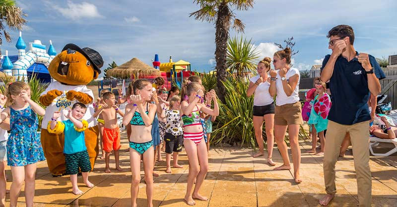 3 camping st hilaire animations, CAMPING SOL A GOGO