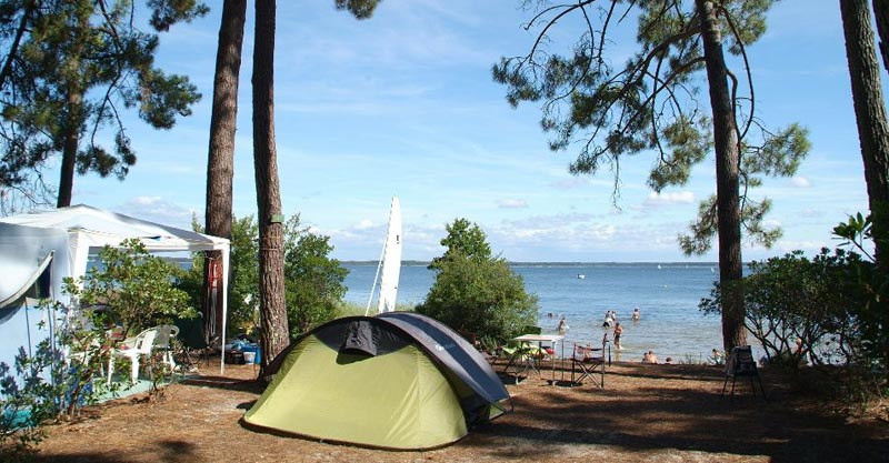 2 camping gironde tedey emplacements, CAMPING LE TEDEY
