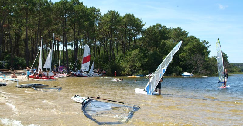 4 camping lacanau plage gironde, CAMPING LE TEDEY
